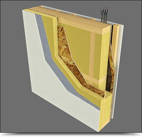 Pareti prefabbricate stratigrafia da interno e da esterno e materiali utilizzati - Parete interna in legno ...