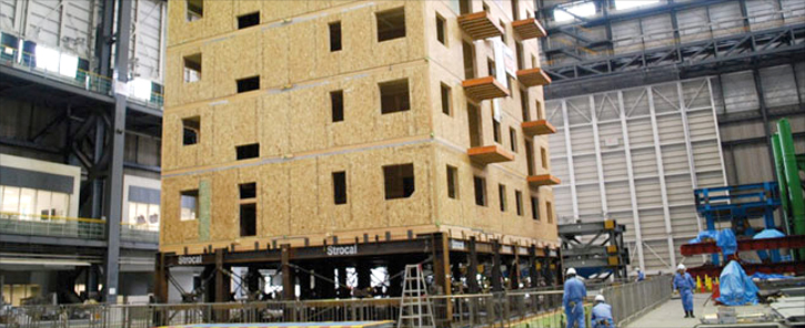 Casa in legno antisismica la sicurezza a prova di terremoto for Piani di costruzione personalizzati per la casa