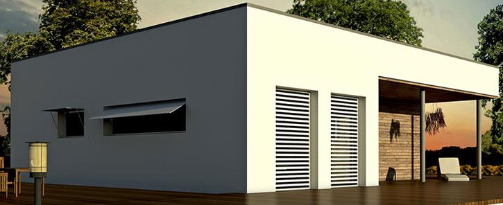 I vantaggi della bioedilizia i motivi per scegliere for Casa moderna con tetto in legno