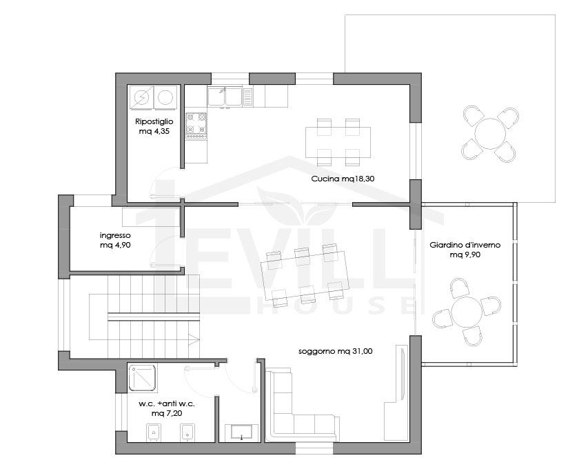 Andromaca progetto casa in bioedilizia case for Case in bioedilizia chiavi in mano