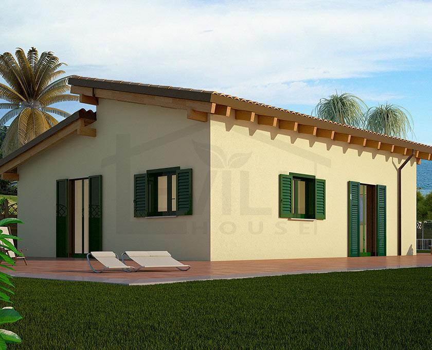 Elettra progetto casa in bioedilizia case for Progetti di case piccole