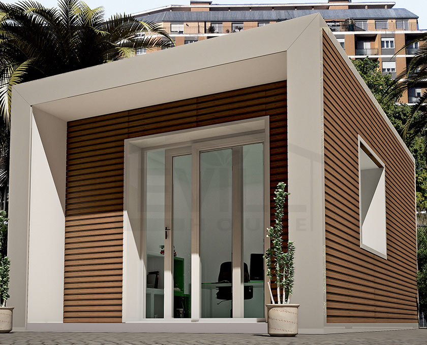 Negozi In Legno Prefabbricati : Loft progetto casa in bioedilizia case prefabbricate in legno