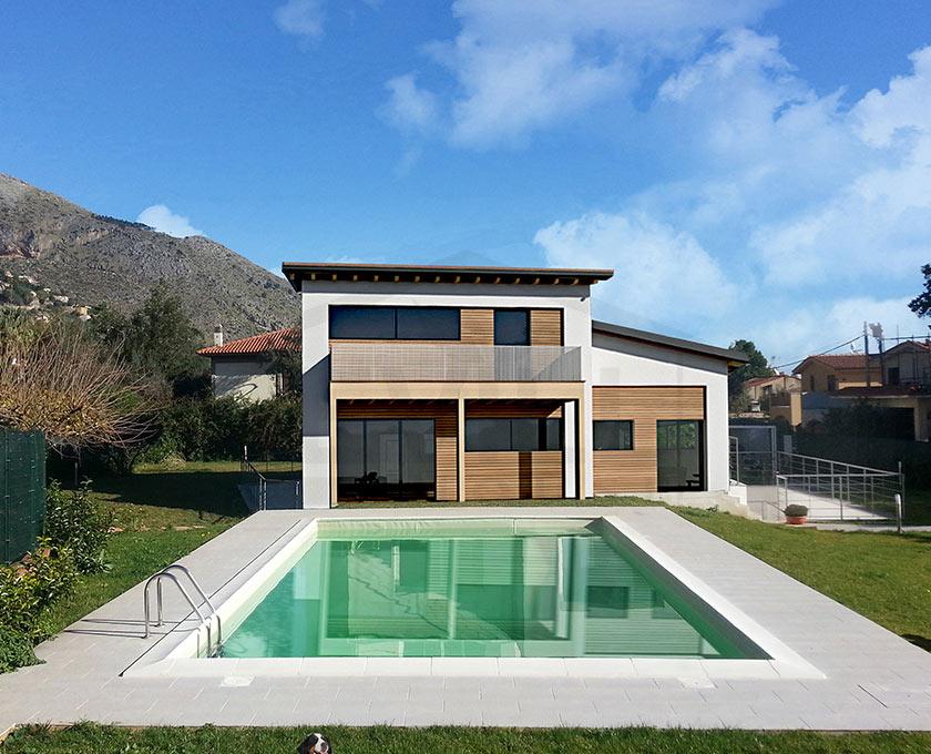 Olympia progetto casa in bioedilizia case - Costo costruzione casa prefabbricata ...
