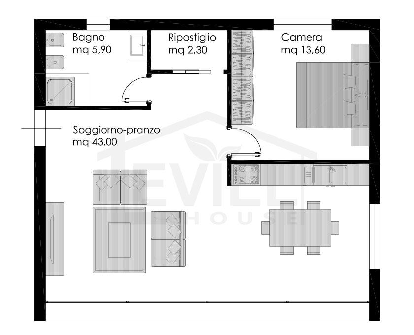 Penelope progetto casa in bioedilizia case - Costo progetto casa ...