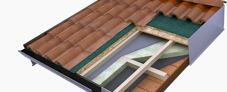 Tipologie e stratigrafie dei tetti in bioedilizia di cosa for Tetti di case moderne
