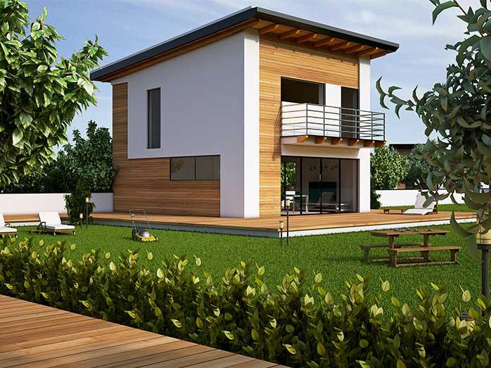 Elena progetto casa in bioedilizia case prefabbricate for Casa moderna progetti