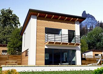 Elena progetto casa in bioedilizia case prefabbricate for Progetti case moderne piccole