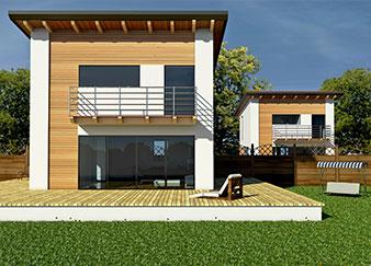Elena - Progetto casa in bioedilizia - Case prefabbricate in legno