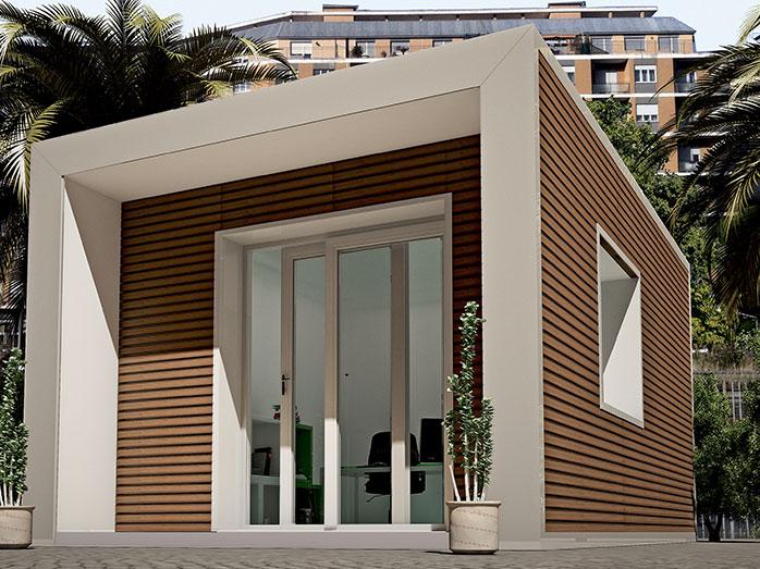 Loft progetto casa in bioedilizia case prefabbricate for Case moderne prefabbricate