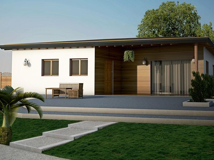 Medusa progetto casa in bioedilizia case prefabbricate for Casa moderna progetti