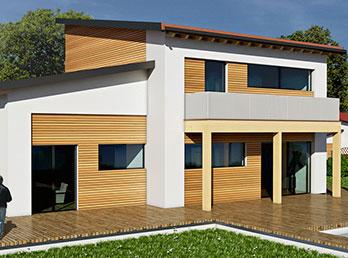 Case moderne e classiche prefabbricate dal design for Progetti di case prefabbricate