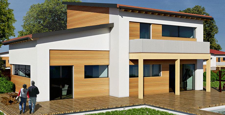 Case in bioedilizia case prefabbricate in legno levill house - Tempi costruzione casa ...